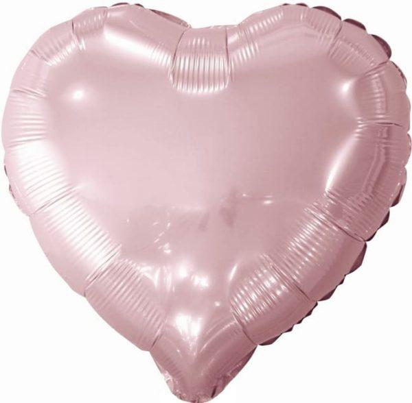 "Шарик ""Сердце"" розовый"