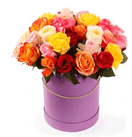 """Цветы в коробке  """"Дейзи"""""""