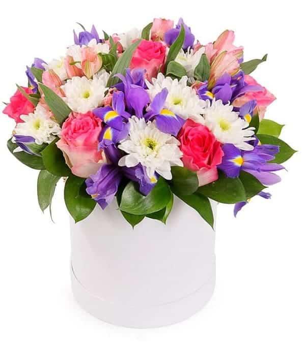 "Цветы в коробке ""Золушка"""
