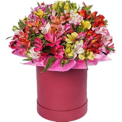 """Цветы в коробке """" Афина"""""""