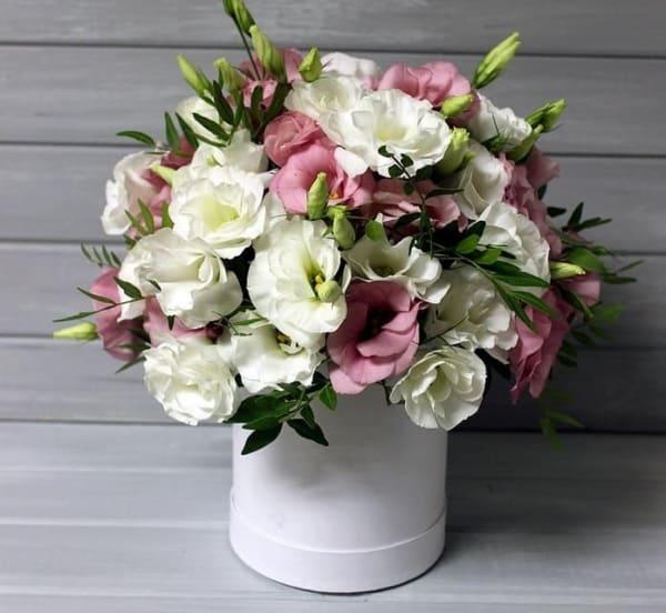 """Цветы в коробке """" Мечта"""""""