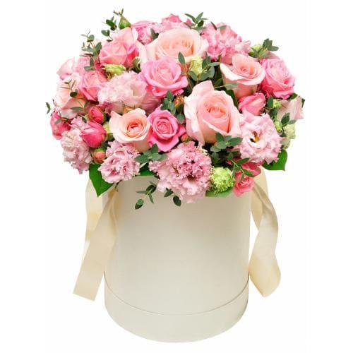 """Цветы в коробке """"Элен"""""""