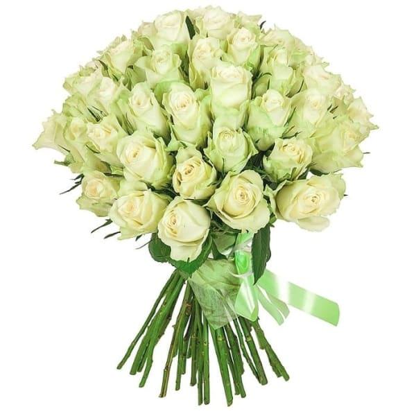 """Букет """"45 белых роз Кения"""""""