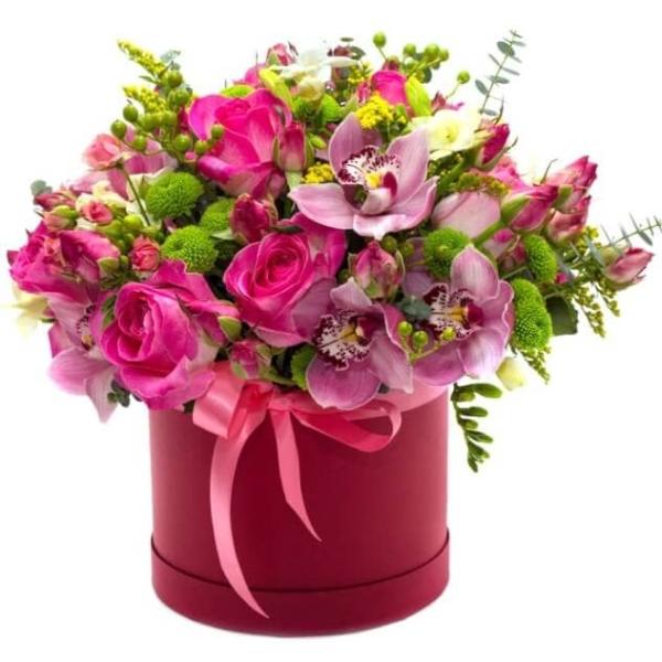 """Цветы в коробке """"Магдалена"""""""