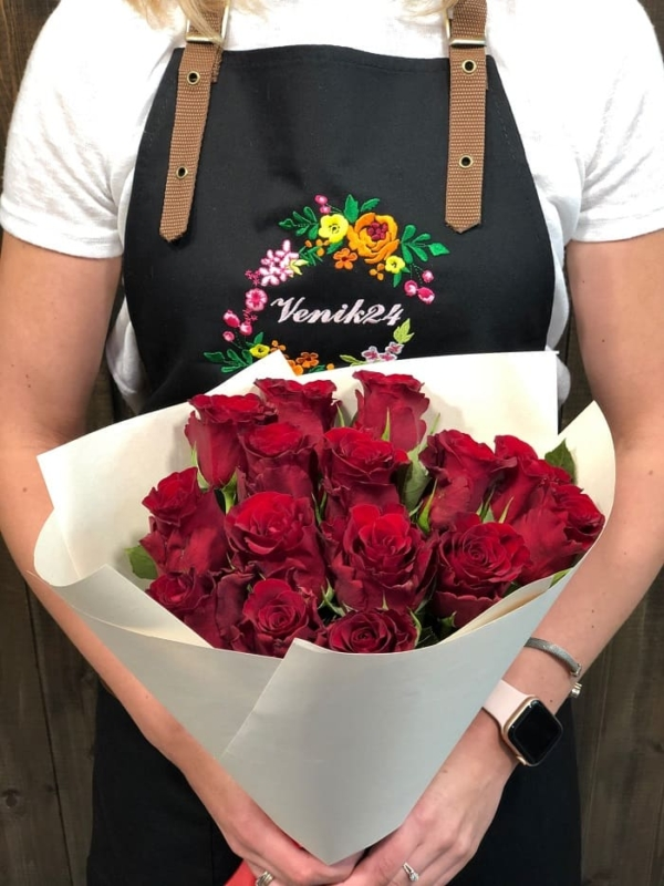 """Букет """"15 красных роз Кения"""""""