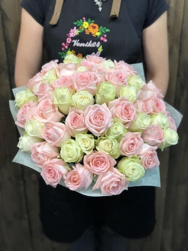 """51 Роза """"Для Принцессы"""""""