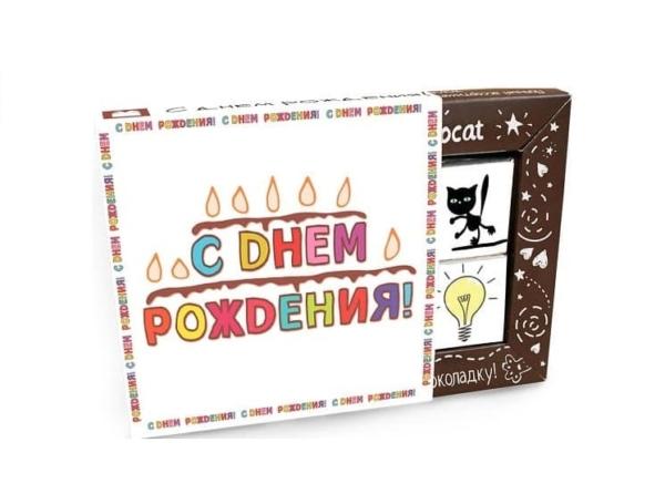 """Шоколадный набор """"С Днем Рождения!"""""""