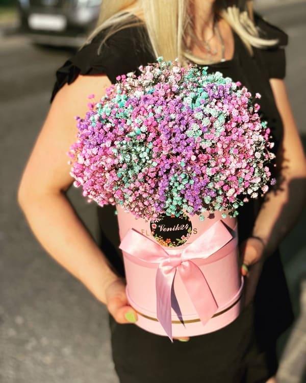 """Цветы в коробке """"Мечта принцессы"""""""